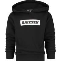 Raizzed hoodie New York met logo zwart/wit, Zwart/wit
