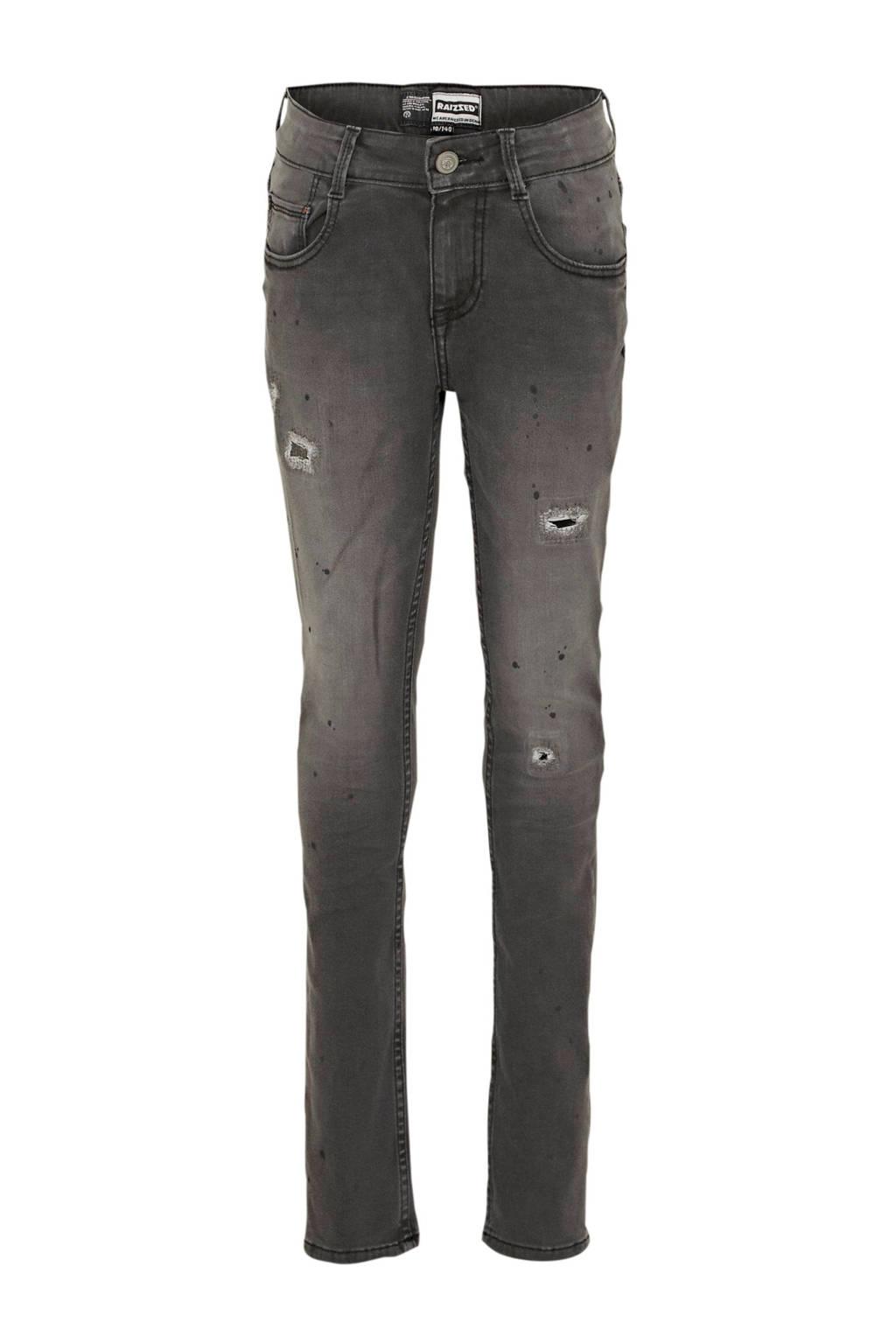 Raizzed skinny jeans Tokyo dark grey stone, Dark grey stone