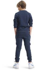 Raizzed sweater Novato met logo donkerblauw/rood, Donkerblauw/rood