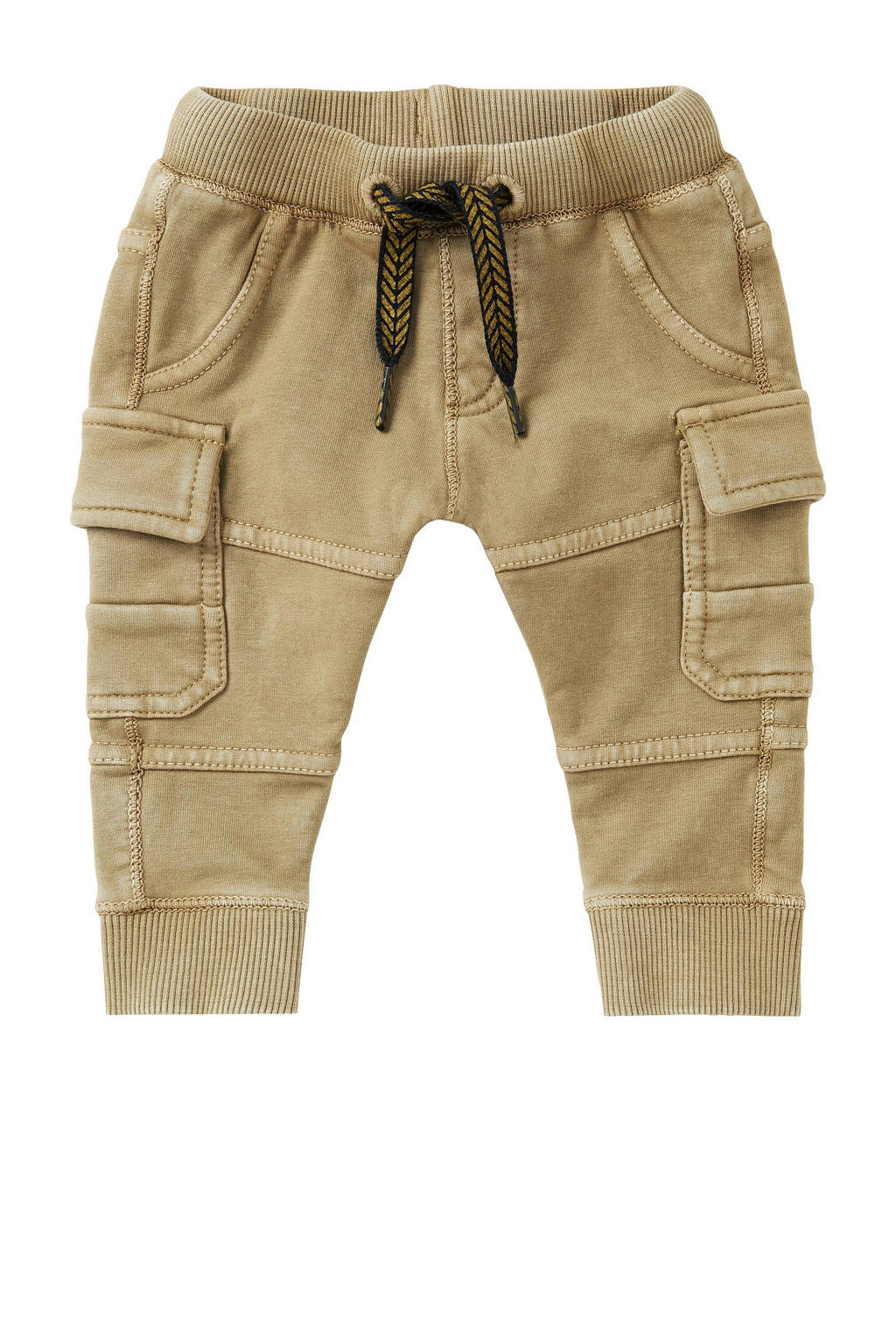 Noppies baby regular fit cargobroek Bisho beige, Beige