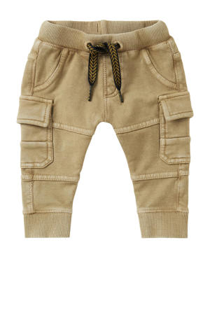 baby regular fit cargobroek Bisho beige