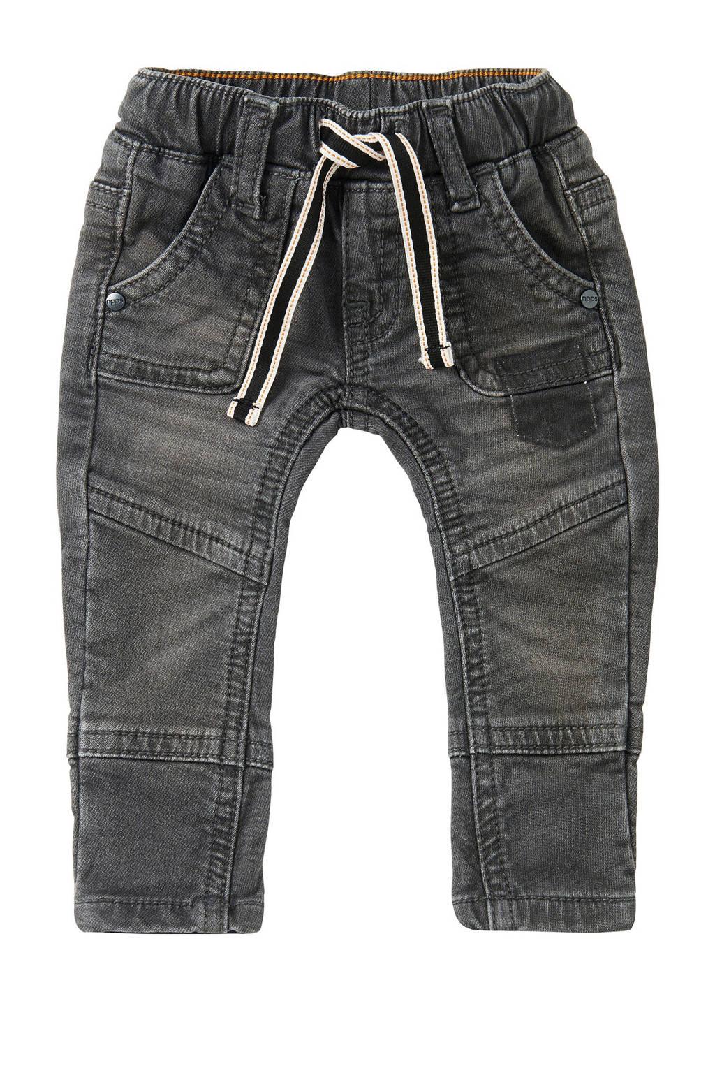 Noppies baby regular fit jeans Rawsonville grijs stonewashed, Grijs stonewashed