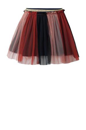 rok Glencoe oudroze/rood/donkerblauw
