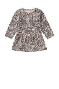 Noppies jurk Riverview met biologisch katoen lichtroze/antraciet, Lichtroze/antraciet