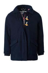 Noppies  winterjas Wepener met logo donkerblauw, Donkerblauw