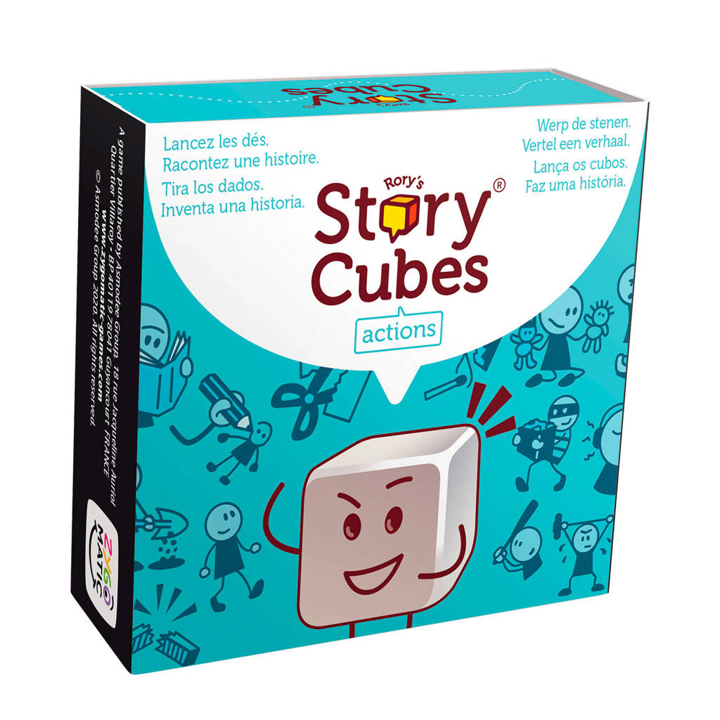 Zygomatic Rory's Story Cubes Actions dobbelspel