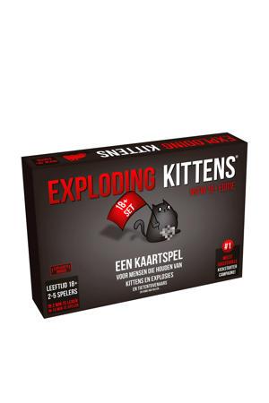 Exploding Kittens NSFW 18+ NL kaartspel