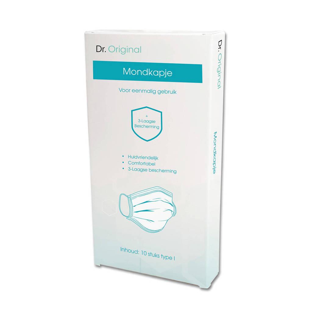 Dr. Original mondkapje voor eenmalig gebruik 3-laags (10 stuks)