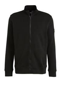 BOSS Casual vest zwart, Zwart