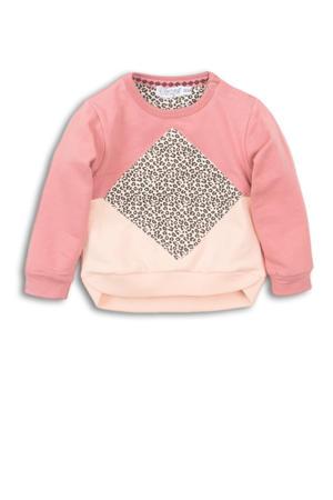 sweater oudroze/oranje