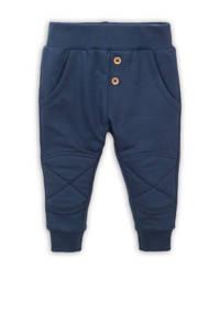 Dirkje broek met textuur donkerblauw, Donkerblauw