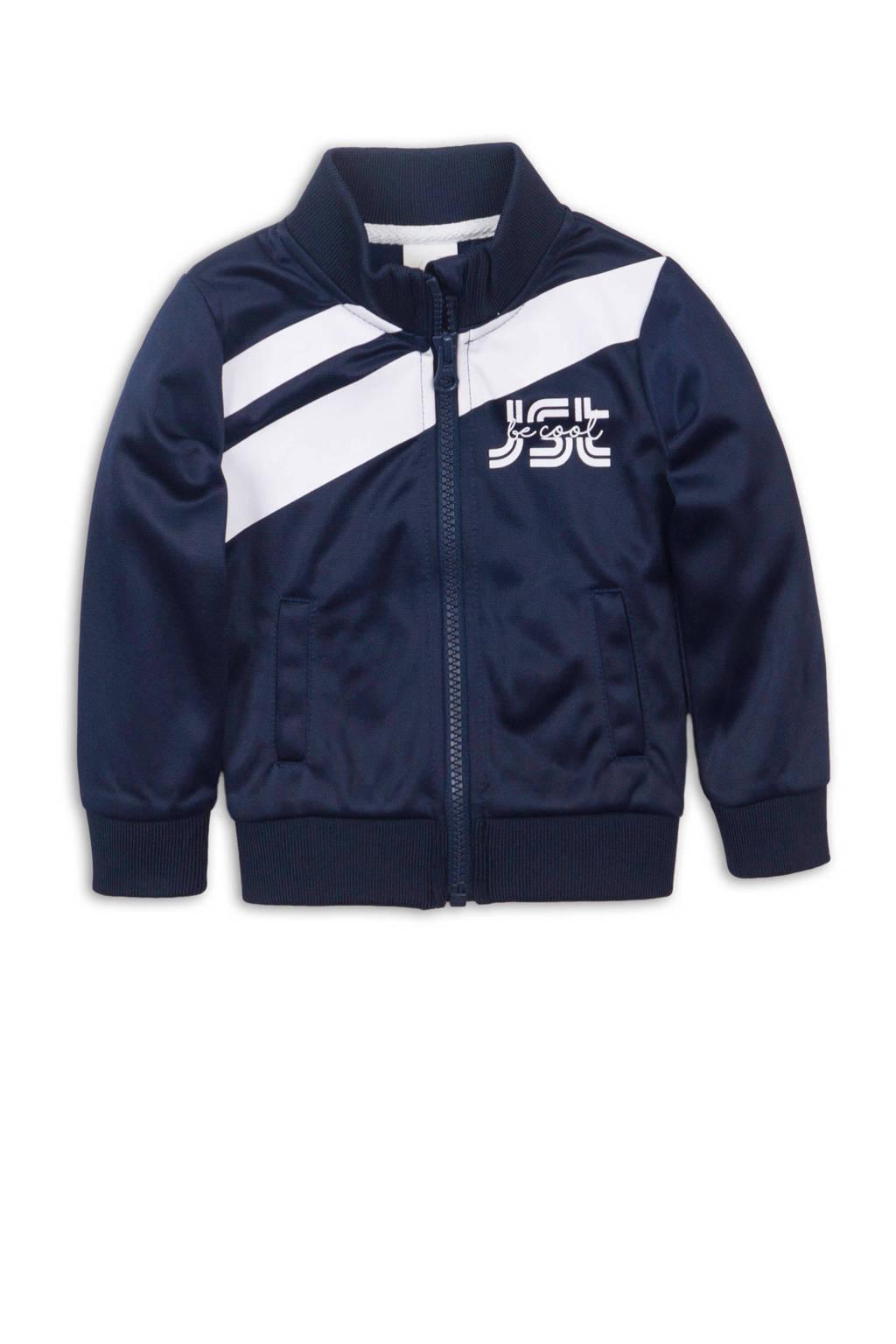 Dirkje jasje donkerblauw/wit, Donkerblauw/wit