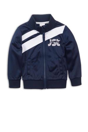 jasje donkerblauw/wit
