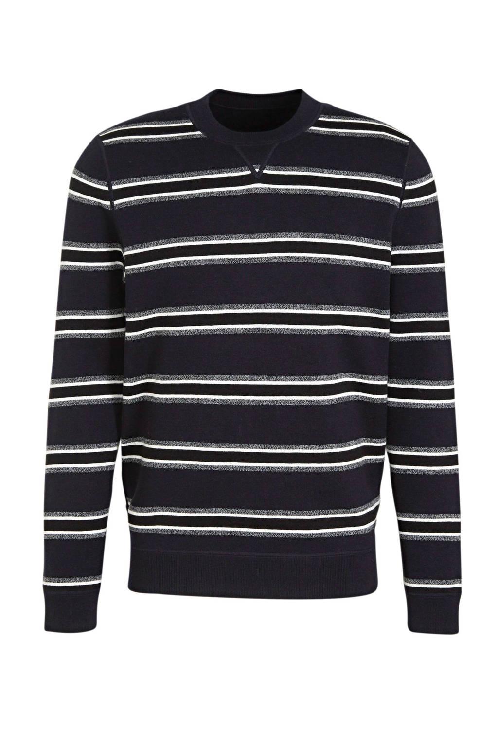 BOSS Menswear reversible sweater donkerblauw, Donkerblauw