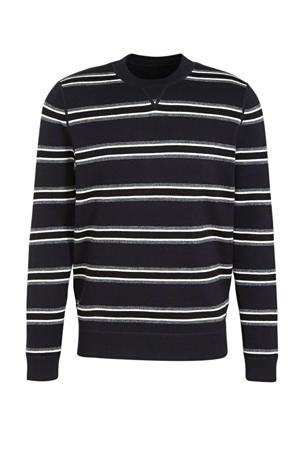 reversible sweater donkerblauw