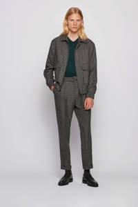 BOSS Menswear fijngebreide wollen trui donkergroen, Donkergroen