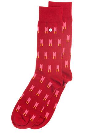 sokken Double Good rood