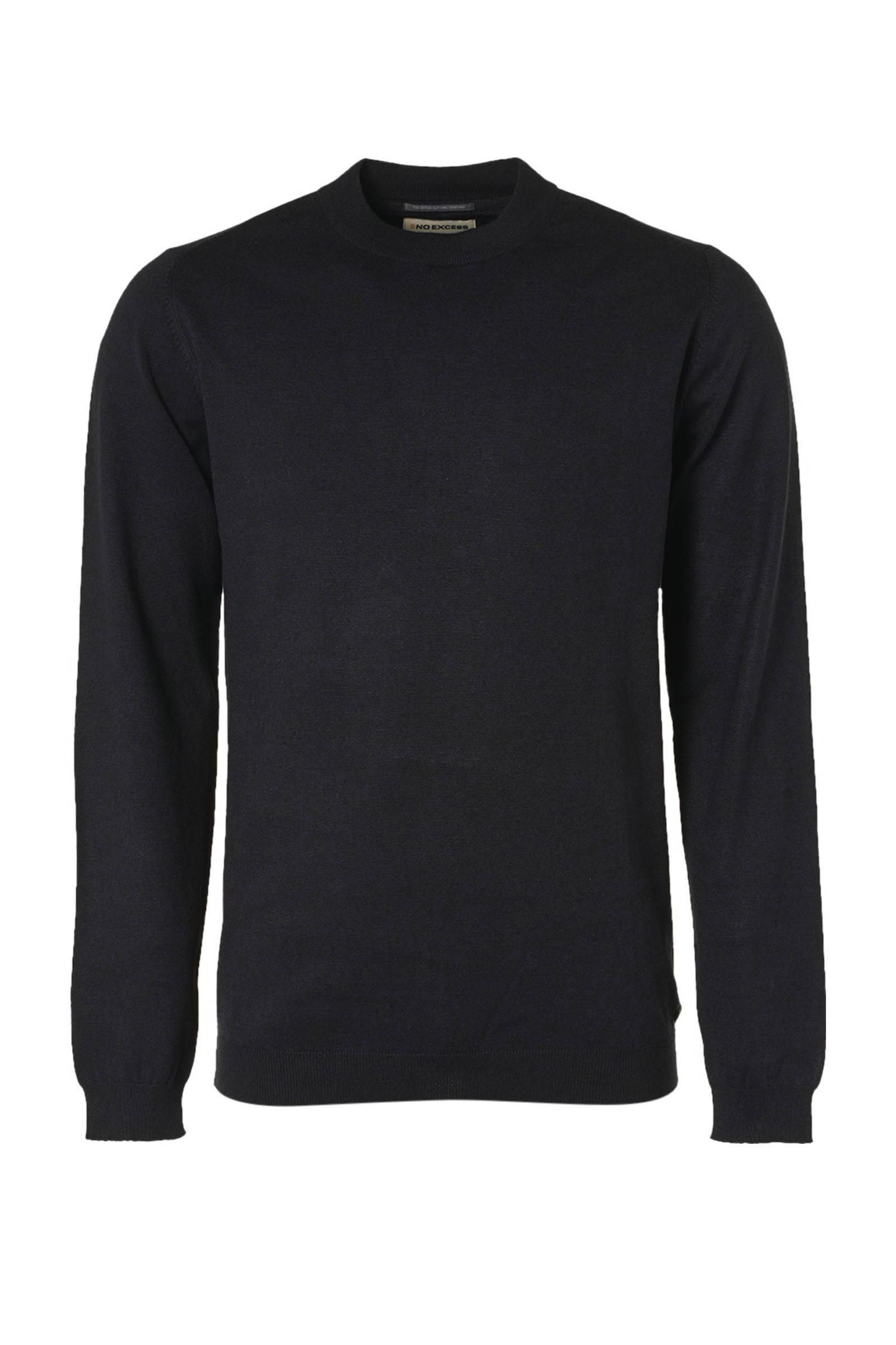 No Excess Pullover high crewneck 2 color black online kopen
