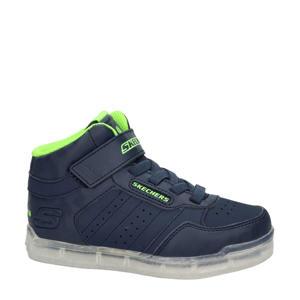 Ice Lights  hoge sneakers met lichtjes blauw