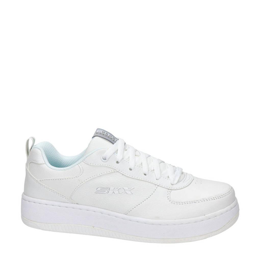 Skechers SKX  leren sneakers wit, Wit
