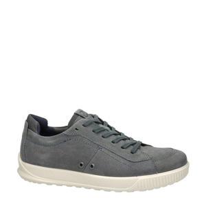 Byway comfort nubuck sneakers grijs
