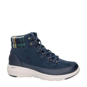 Go Walk  nubuck wandelschoenen blauw