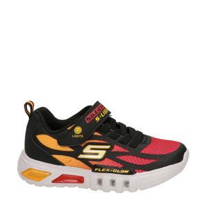 S-Lights  sneakers met lichtjes zwart/rood