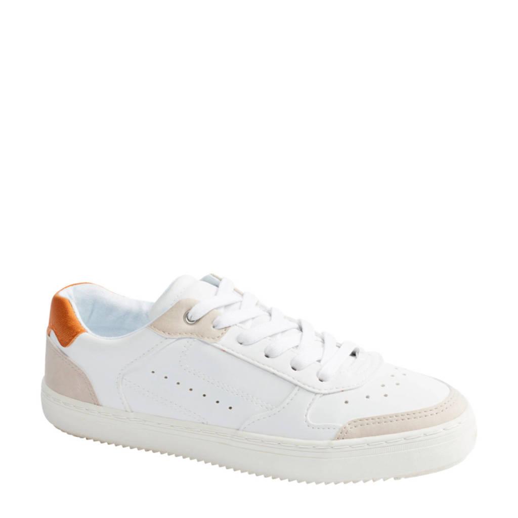 Graceland   sneakers wit, Wit/Beige/Okergeel