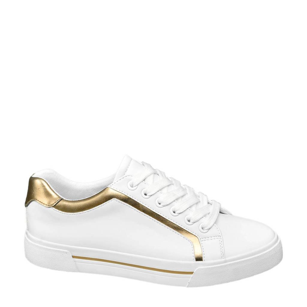 Graceland   sneakers wit, Wit/goud