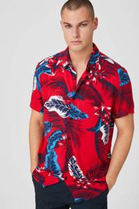 C&A Clockhouse regular fit overhemd met all over print rood, Rood