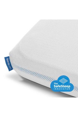 polyester hoeslaken 60x120 cm Wit