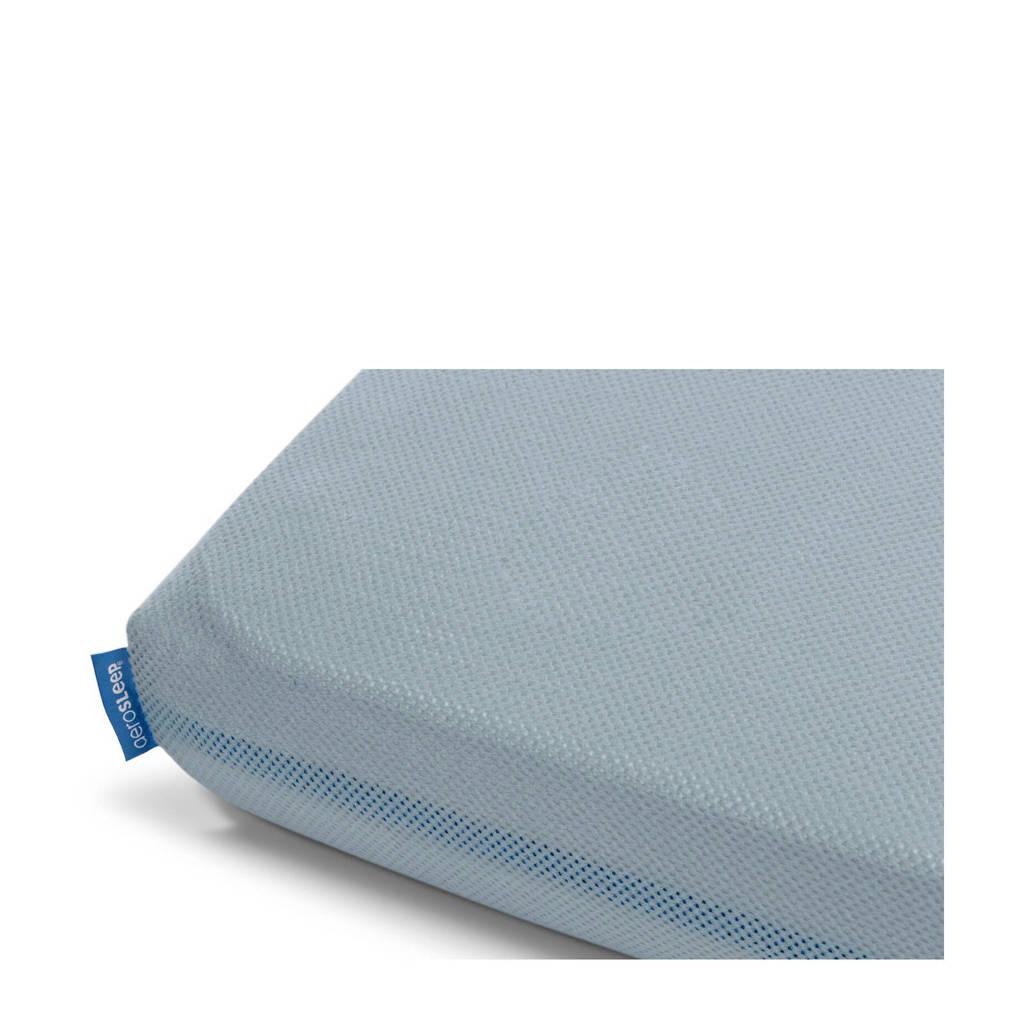 AeroSleep polyester hoeslaken 60x120 cm, Blauw