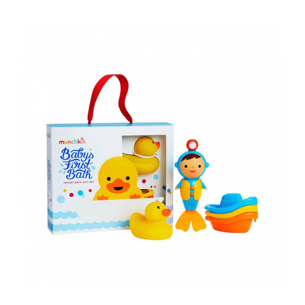 Munchkin Baby's first bath giftset badspeelgoed