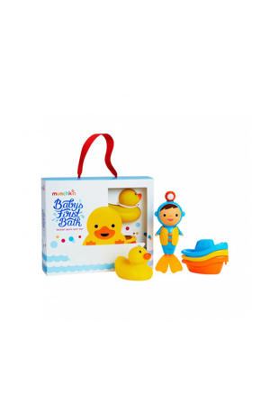 Baby's first bath giftset badspeelgoed