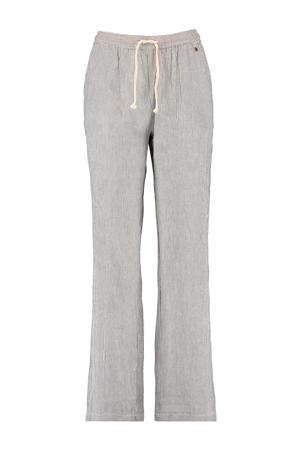 gestreepte pyjamabroek grijs/wit