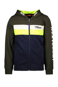 TYGO & vito vest army groen/geel/donkerblauw/geel, Army groen/geel/donkerblauw/geel