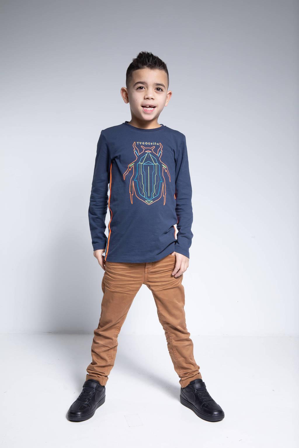 TYGO & vito skinny jeans bruin, Bruin