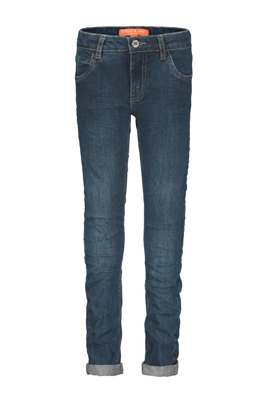 TYGO & vito skinny jeans stonewashed, Stonewashed
