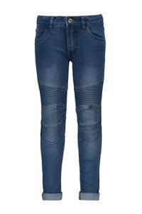 TYGO & vito skinny jeans met textuur stonewashed, Stonewashed