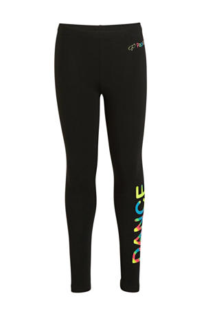 sportbroek zwart/multi