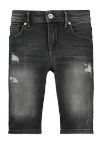CoolCat Junior jeans bermuda Ned zwart, Zwart