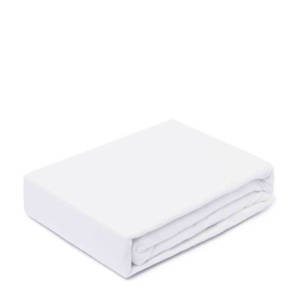 Vandyck Molton stretch split topper matrasbeschermer (tot 15 cm matras), Wit
