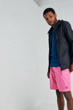 regular fit bermuda roze