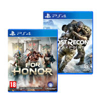 Ubisoft For Honor + Tom Clancy's Ghost Recon Breakpoint Standard edition set (PlayStation 4)