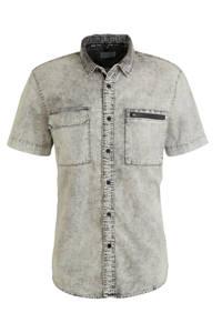 C&A Angelo Litrico regular fit overhemd grijs, Grijs