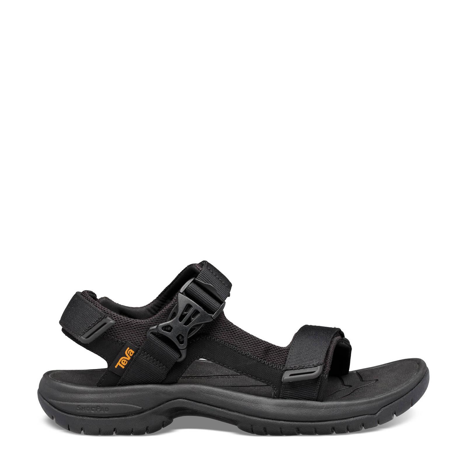 Teva Tanway Leather outdoor sandalen zwart online kopen