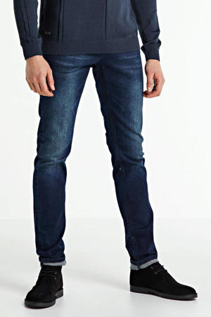 slim jeans Torino dark blue used