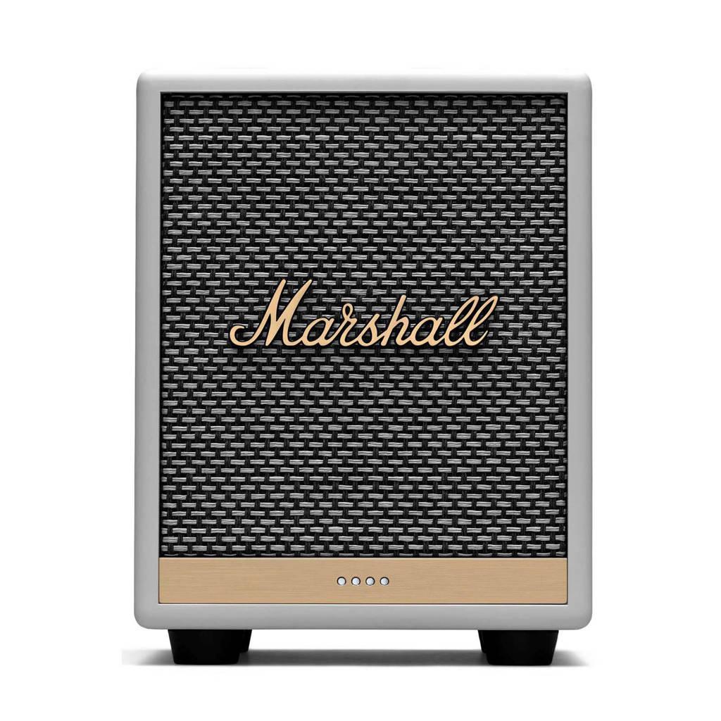 Marshall Multi-room Uxbridge BT Google Voice Bluetooth speaker, Wit