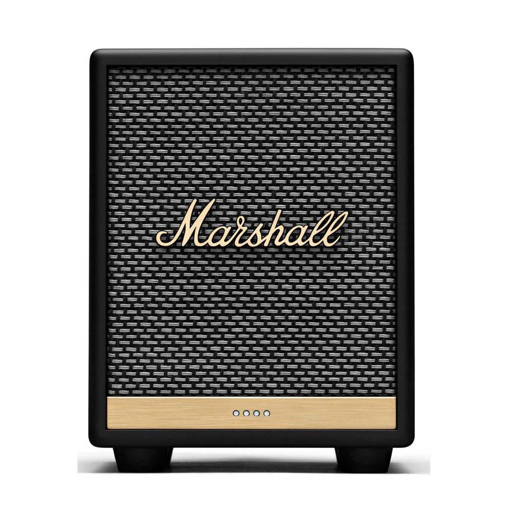 Marshall Multi-room Uxbridge BT Google Voice speaker, Zwart