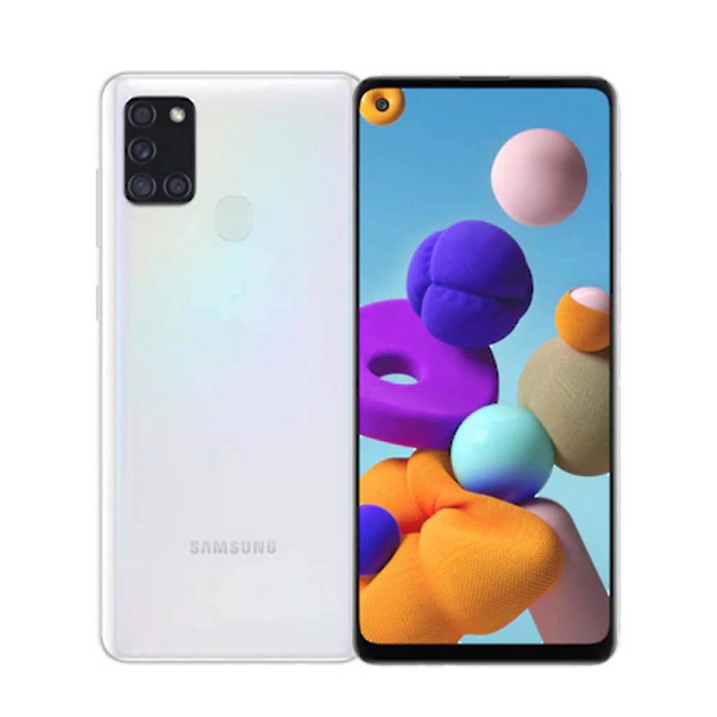 Samsung GALAXY A21S 64 GB (wit), Wit